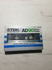 TDK AD90 Normal Position Cassette Tape (Sealed)
