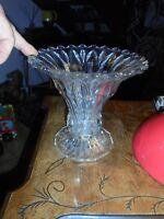 Joli Vase en Verre Coupe ou Calice très évasé Brûle Parfum ou Fleurs Séchées