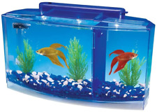 New listing Betta Fish Tank with Divider Triple Beta Tank Deluxe With Filtration System New