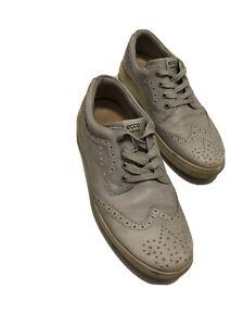 Ecco Gray Golf Shoes Extra Wide Euro 44 Men's US 10.5-11