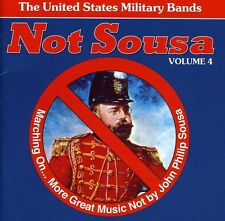 United States Milita - Not Sousa & Marching on 4 [New CD]