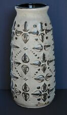 Vase Céramique Fat Lava W.Germany Carstens