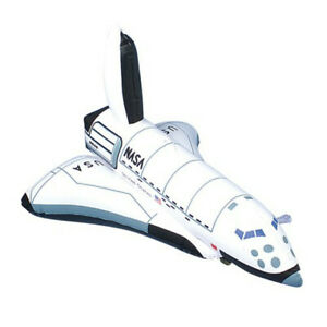 """Inflatable Space Shuttle NASA USA Astronaut 17"""" Explorer Toy Outerspace"""