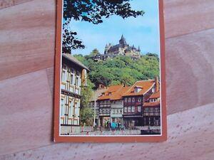 Postkarte von Wernigerode