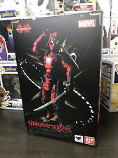 BANDAI MEISHO MANGA REALIZATION Deadpool 18cm Figure Marvel samurai Japan NEW