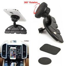 360° Support de GPS Téléphone Portable Bâti Fente Lecteur CD Voiture Titulaire