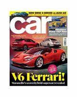 CAR Magazine February 2021 - V6 Ferrari Peugeot BMW 4 Series Audi A5 4er - NEW!