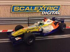 Scalextric Digital Renault F1 Team 2007 No3 (C2780D) Excelente Estado
