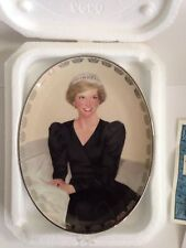 "Bradford Diana ""An Unforgettable Princess"" Queen of Our Hearts Plate #9722A"