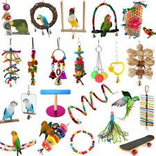 Columpio Juguetes para Mascotas Juguete para pájaro Arnés Jaula Colgar Juguetes para Cotorra Cacatúa
