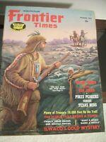 Frontier Times Jan 1967 Vintage Western Magazine - Vintage Advertising Artwork
