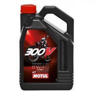 Neuf Huile motul 300V 5W40 moteur 4T 100% synthetique 4 litres