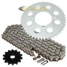 Drive Chain & Sprockets Kit Fits HONDA XR100R 1985-2003 / CRF100F 2004-2013