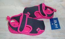 BUM EQUIPMENT Little Girl Toddler BLUE & PINK Water Sandals Size 9 NEW