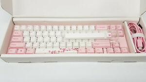 Ducky x Varmilo MIYA Pro Sakura Pink LED 65% Mechanical Keyboard