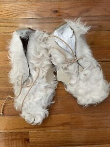 Tory Burch Fur Shoes Size 7 New