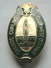 Rare Curling Pin - Granite Curling Club West Ottawa
