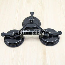 Suction Cup Floor Tile Dent Puller Glass Granit Lifter Vacuum Tripod Tool Black