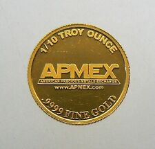 APMEX 1/10 oz Gold Coin .9999 Fine