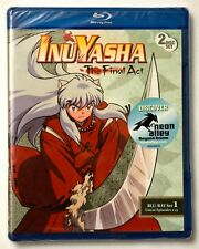 INUYASHA: The Final Act, Set One - NEW BLU-RAYS!! Free First Class Ship in U.S.