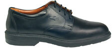 COFRA COULOMB BLACK LEATHER S2 SRC SAFETY SHOES - UK Size 12 EU 47 - NEW