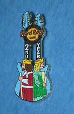 HARD ROCK CAFE 2005 Cardiff 2nd Anniversary - King and Queen Pin # 29685