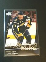 F57227  2009-10 Upper Deck #214 Tyler Myers YG RC sabres