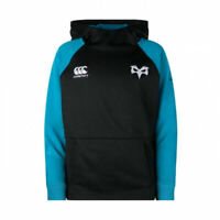 Men's Rugby Ospreys Training Hoodie BLUE BLACK Jumper RRP £54.99 SIZE  XL NEW