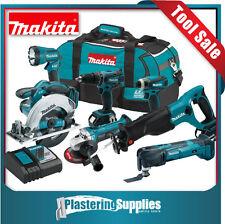 Makita 18v Li-Ion 6 Piece Combo +  Multi-Tool XMT03  Kit XT601