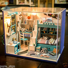 DIY Handcraft Miniature Project Kit My Little Boys Bedroom Wooden Dolls House
