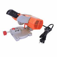 "New 220V Cutting Machine Bench Mini Cut-off Miter Saw Steel Blade 7800RPM 3/8"""
