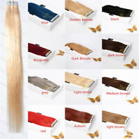8A Seamless Tape In Skin Weft Ombre 100% Remy Virgin Human Hair Extensions
