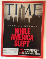 911 REPORT TIME MAGAZINE MAY 27 2002 VERY GOOD