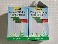 Tetra Whisper BIO-BAG Medium Disposable Filter Cartridges For Aquariums (6 Pack)