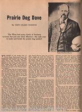 """Dodge City, Kansas Lawman """"Prairie Dog"""" Dave Morrow.Names Bell, Bolds,Deger,Webb"""