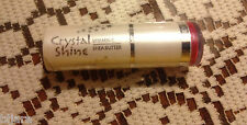 Crystal Shine Vitamin C Shea Butter Lipstick 11 Lucid Raspberry 0.14 Oz Sealed
