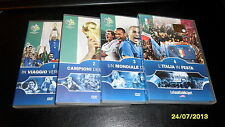 CALCIO: 4 DVD ITALIA NAZIONALE CAMPIONE del MONDO (GERMANY 2006)