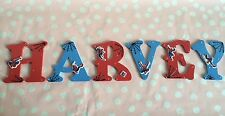 Personalised Children 9cm Letter Alphabet Wall Door Bedroom Spiderman/Any Theme