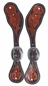 Spur Straps - Stratford Chocolate Floral (Youth/Ladies)