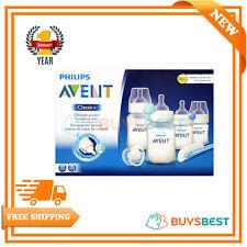 Philips Avent Starter Set Classic+ Newborn 4 Baby Bottle Kit Teat Brush Soother