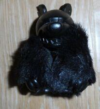 NIB!!! TOY2R knuckle bear 2 2005 TOUMA chase BLACK COAT vintage htf RARE art TOY