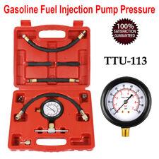 TU-113 Gasoline Fuel Injection Pump Pressure Tester Gauge Kit 100psi + Case