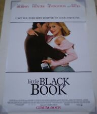 Little Black Book Movie Poster 2 Sided Original 27x40 Brittany Murphy