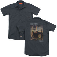 PINK FLOYD FADED ANIMALS Licensed Men's Dickies Graphic Work Shirt SM-3XL