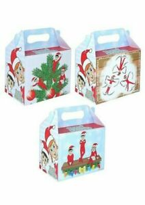 Elfin Party Food/Meal Boxes - Elfin Around Lunch Boxes-Christmas Party Theme