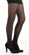Collants noirs resille taches leopard panthère noire SEXY Pamela Mann