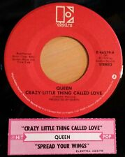 Queen 45 Crazy Little Thing Called Love / Spread Your Wings  w/ts