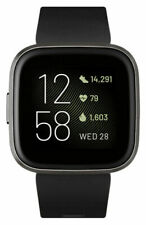 Fitbit Versa 2 tracker di attività - Nero/Carbone