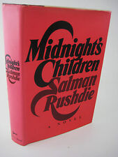 SIGNED 1st Edition MIDNIGHT'S CHILDREN Salman Rushdie FICTION 2nd Printing NOVEL