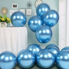 HOT 18'' Metal blue Latex Balloon Air Balloon Wedding Birthday Party Decoration